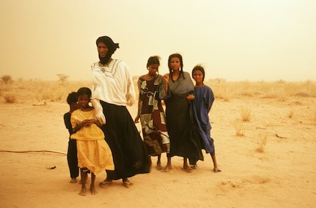 Family - The Tuareg or Kel Tamasheq and a history of the of the Sahara Curated by Henrietta Butler