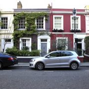 Notting Hill area guide coloured houses