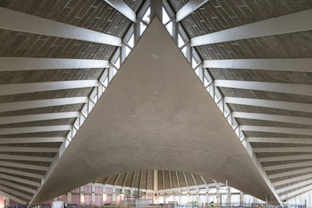 Design Museum Kensington roof - planning in Kensington