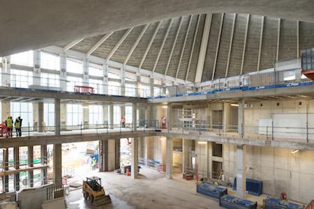 Design museum construction - planning in Kensington