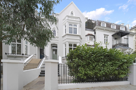 Notting Hill Property market comment - Pembridge Villas external shot
