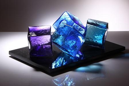 London Craft Week Kensington , Vessel Gallery glass art