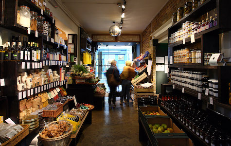 Marylebone Shopping - La Fromagerie