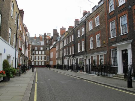 How has Airbnb affected London's rental market - image of typical London street