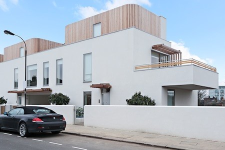 best places to invest in west London - new eco-house in Harlesden