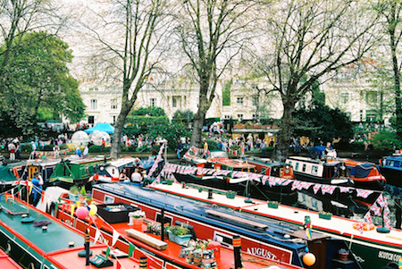 Little Venice in Maida Vale canals - Maida Vale area guide
