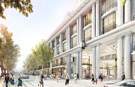Whiteleys facade - Whiteleys development plan