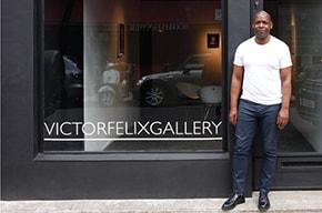 Mountgrange Heritage Our Friends - Arts & Literature - Victor Felix Gallery