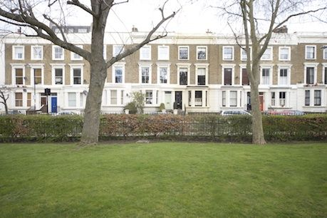 Rent in Notting Hill - Garden square