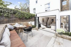 Top tips for selling your house this summer - image of clean patio garden