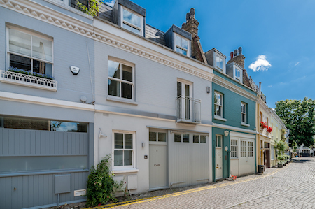 Kensington mews houses - Lexham Mews