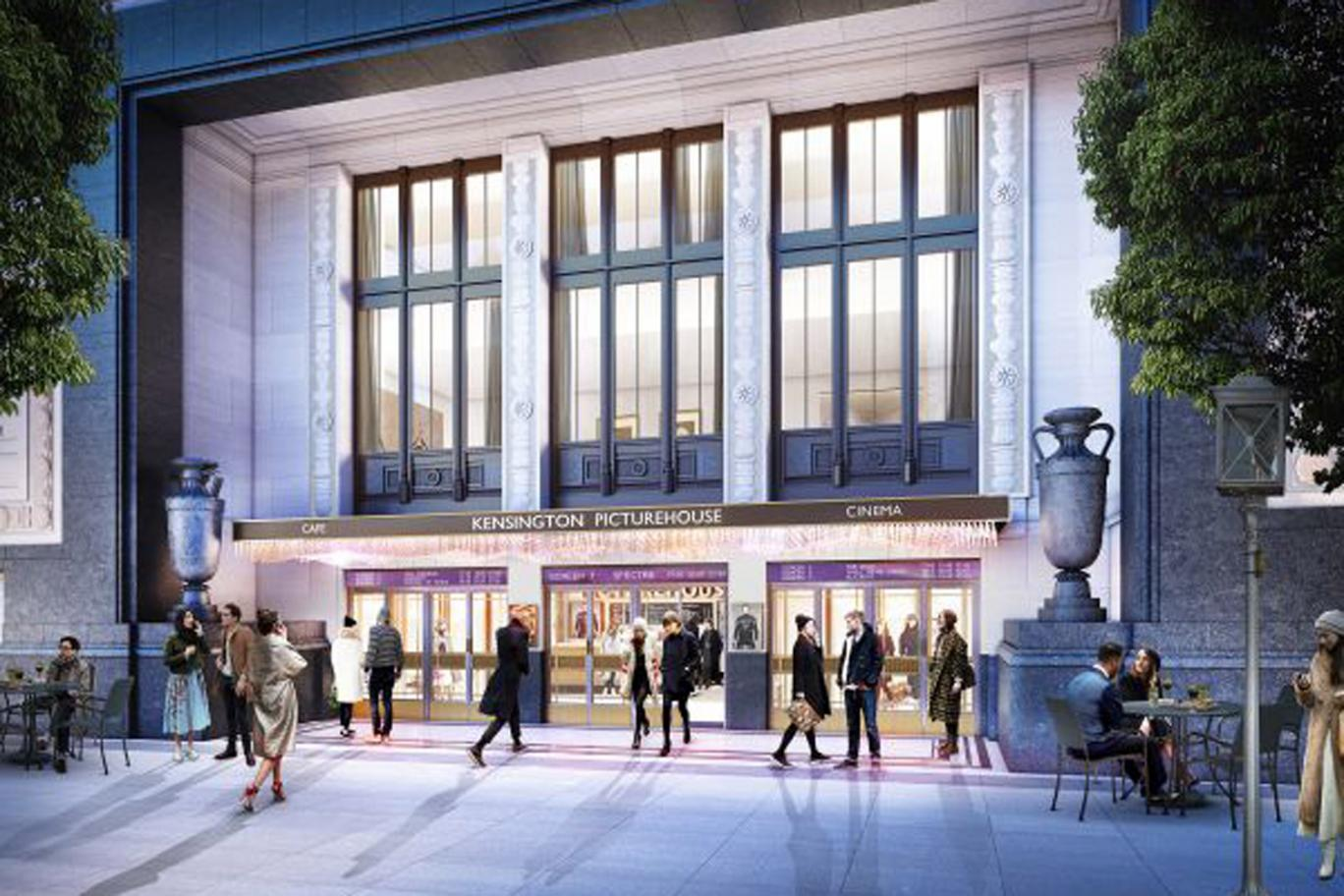 Odeon High St Kensington Development - exterior CGI