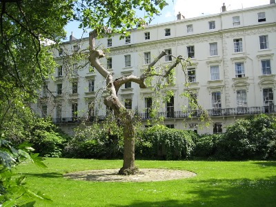 open garden squares, leinster square