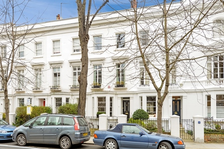 London buy to let market – grand terraced houses in Kensington