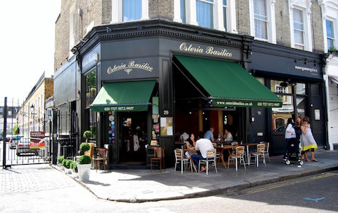 Notting Hill Going Out - Osteria Basilico