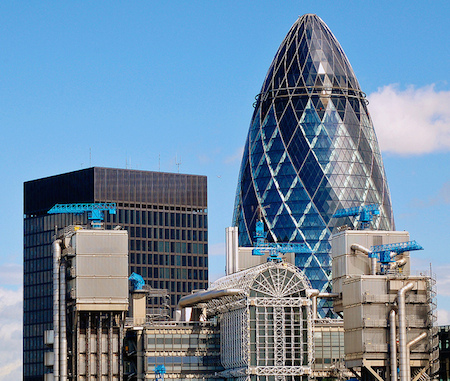 Why is London the best city in the world? gherkin-view