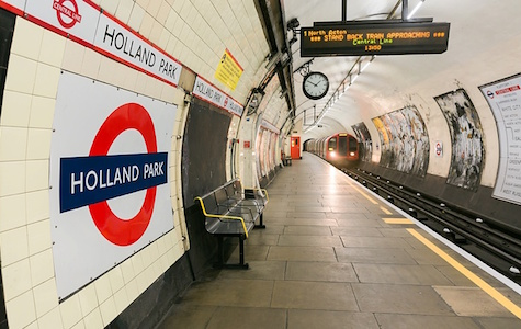 Holland Park Transport - Tube