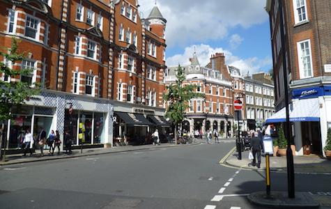 Marylebone Shopping - Marylebone High Street