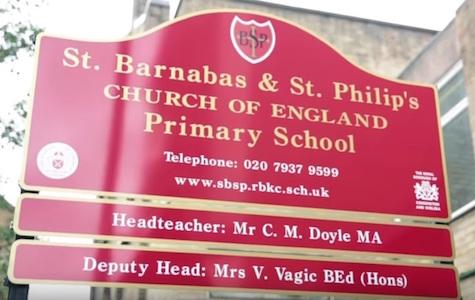 Kensington Palace St Barnabas Primary