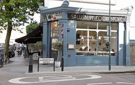 Shopping Salusbury Road