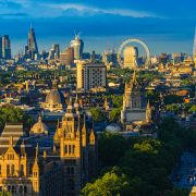 London skyline - James Neeley