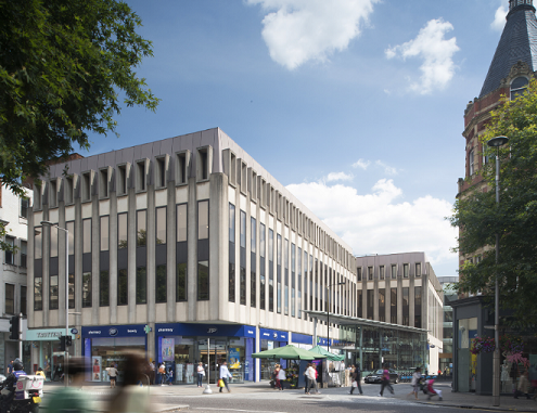 127 Kensington High Street to be redeveloped - current view of building