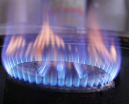 Changes to Gas Safety Regulations - lit gas hob