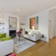 Kensington & Chelsea Property Sales Market Report Q2 2018 - view of modern living room in Kensington apartment