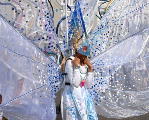 Notting Hill Carnival - carnival girl