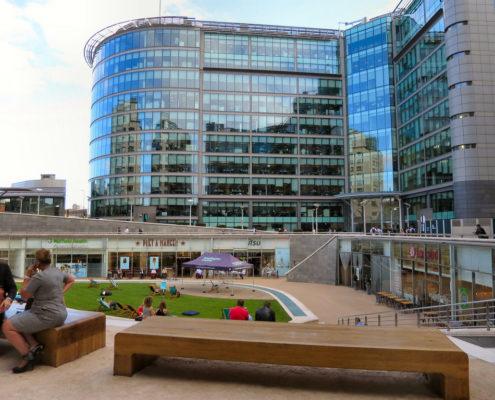 Invest in Paddington in 2018 - Sheldon Square Amphitheatre